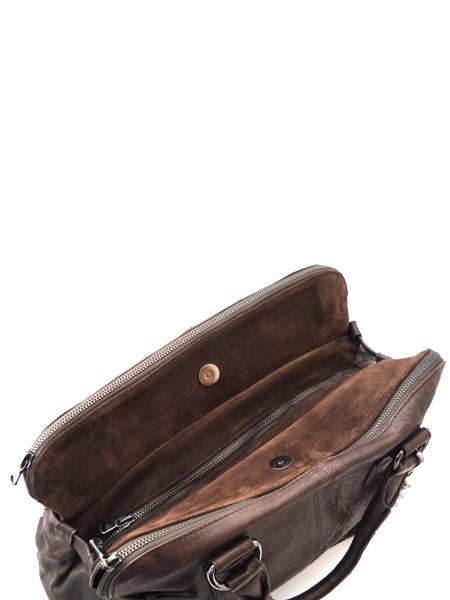 Небольшая сумка дамская с тремя отделениями итальянской марки INNUE'-5338