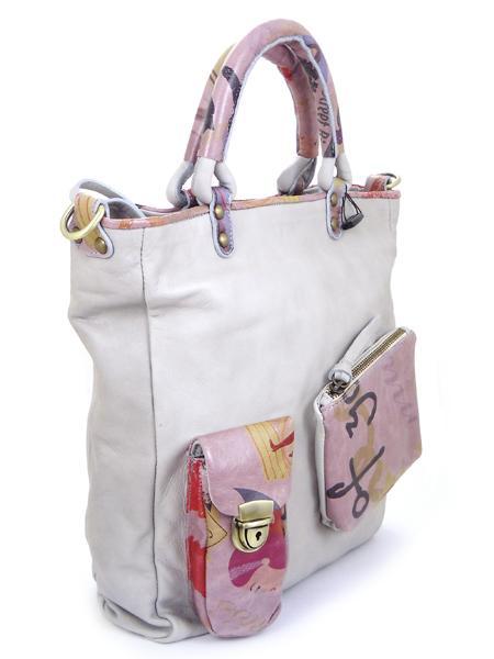 сумка с принтами в стиле ретро BAGIA