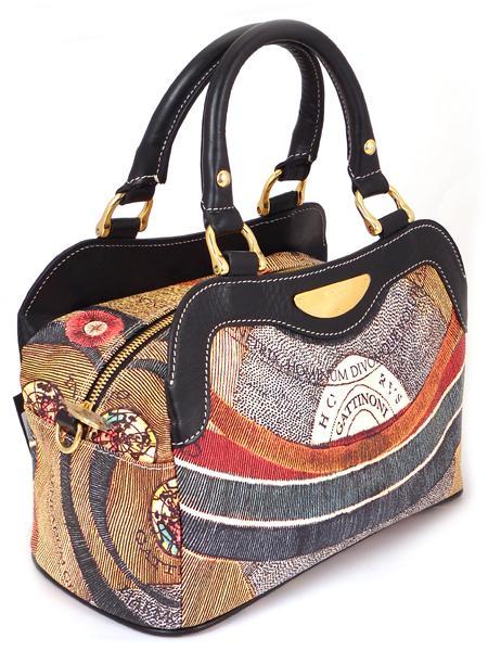 Клубная имиджевая сумка итальянского бренда GATTINONI 20581-1534