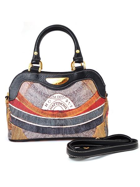 Клубная имиджевая сумка итальянского бренда GATTINONI 20581-0