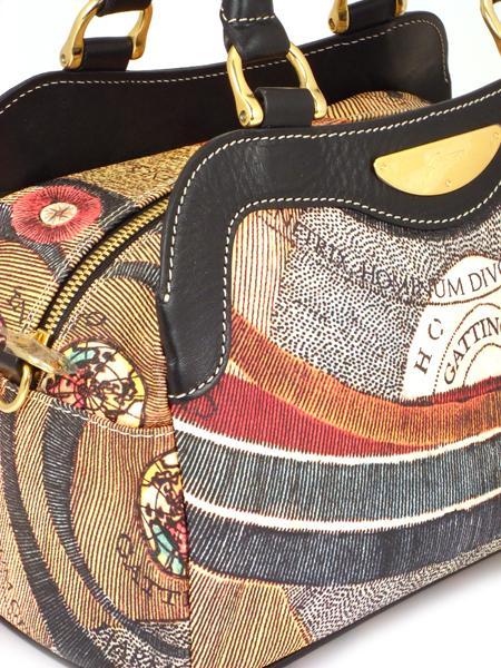 Клубная имиджевая сумка итальянского бренда GATTINONI 20581-1535