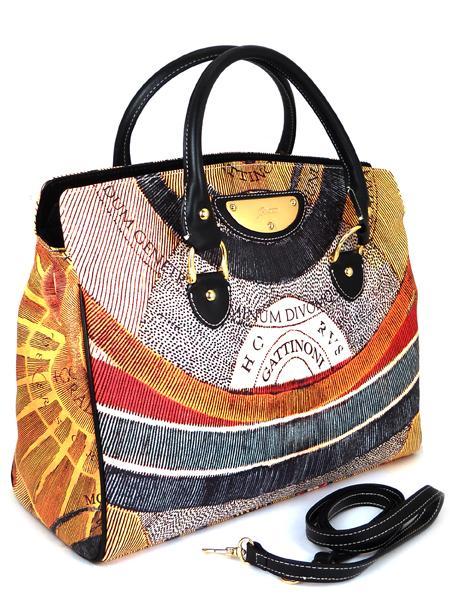 Имиджевая дамская сумка итальянского бренда GATTINONI 22061-1658