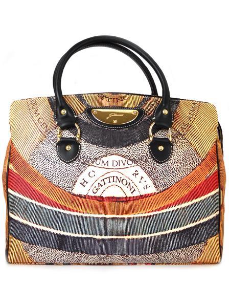 Имиджевая дамская сумка итальянского бренда GATTINONI 22061-0