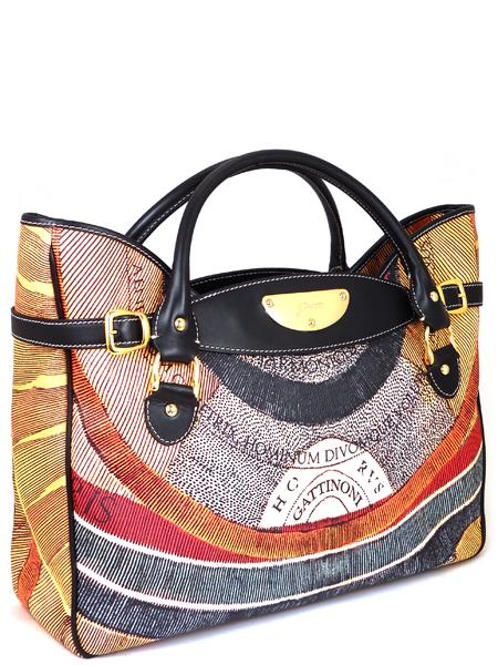 Имиджевая сумка итальянского бренда GATTINONI 22521-0