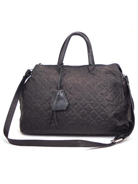 Черная дамская кожаная сумка итальянской марки GIANNI CHIARINI BS1415 nero-5118