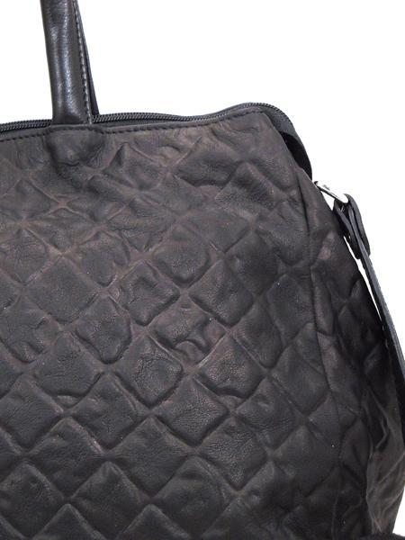 Черная дамская кожаная сумка итальянской марки GIANNI CHIARINI BS1415 nero-5119