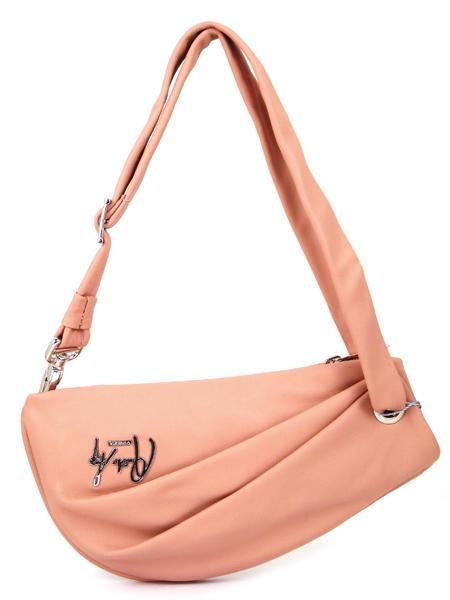 розовая наплечная сумочка Renato Angi из натуральной кожи распродажа