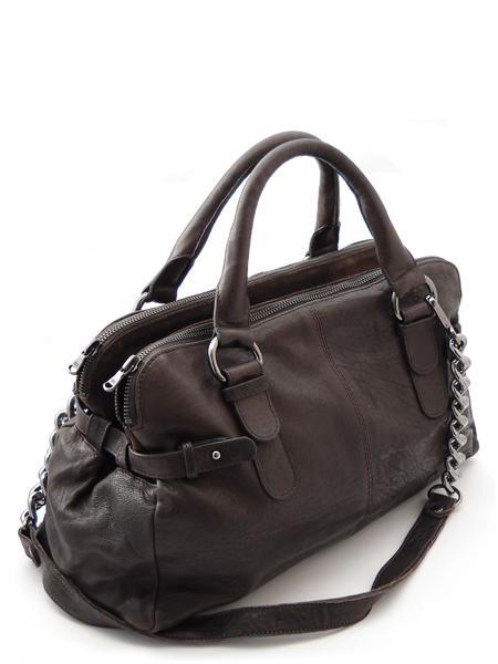 Небольшая сумка дамская с тремя отделениями итальянской марки INNUE'-5339
