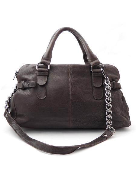 Небольшая сумка дамская с тремя отделениями итальянской марки INNUE'-0