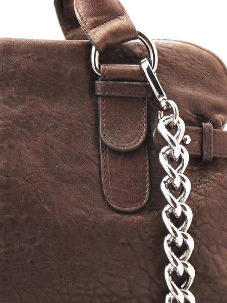 Небольшая сумка дамская с тремя отделениями итальянской марки INNUE'-5337