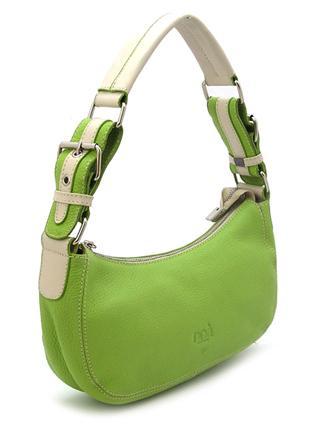 Маленькая женская сумочка нежно-зеленого цвета