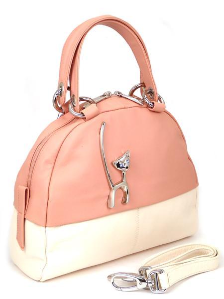 розовая сумка с кошкой Renato Angi Италия распродажа