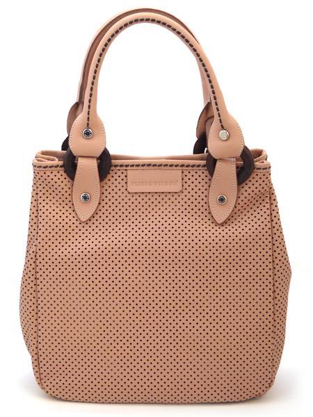 Дамская сумка темно-розового цвета итальянской марки PLINIO VISONA'-589