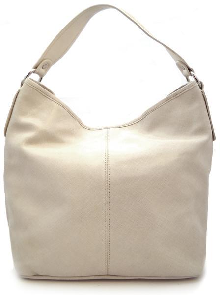 Классическая сумка светло-песочного цвета итальянской марки INNUE-5201